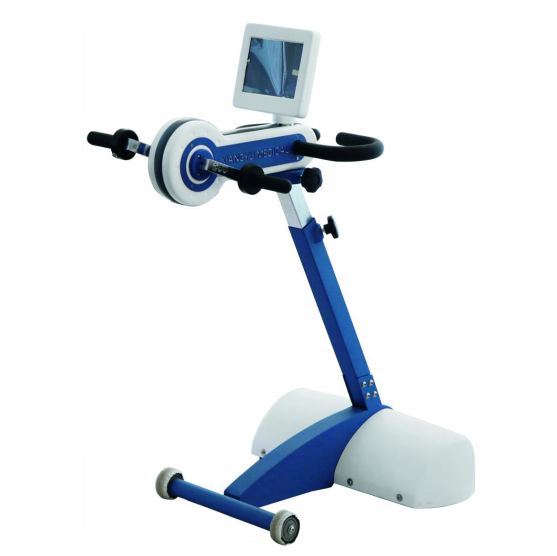 Physical therapy exercise bike