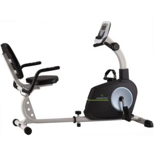 Recumbent rehabilitation bike with seat