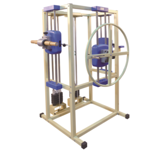 Multifunction physiotherapy exercise equipment exercise frame