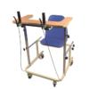 Medical rehabilitation equipment walking frame with seat