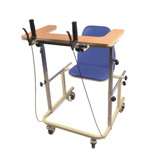 Medical rehabilitation equipment walking frame with seat