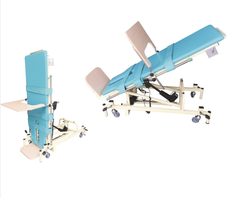 Physiotherapy tilt bed hemiplegia rehabilitation equipment