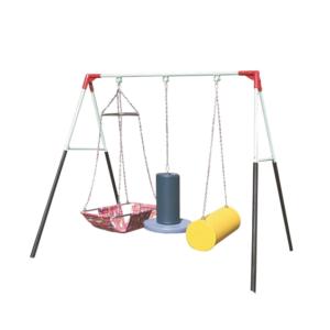 Children playing rehabilitation equipment