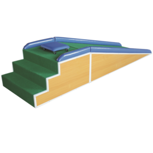 Children stairs and ramp rehabilitation equipment