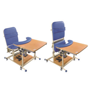 Medical children standing frame seat rehabilitation chair