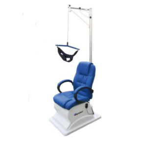 Hospital physical therapy cervical traction chair