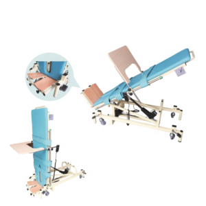 Medical electric rehabilitation tilt table